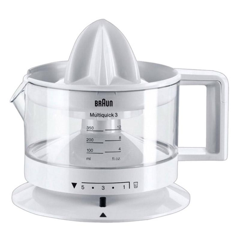 Braun CJ 3000 Citrus Juicer Press 20W 350ml - White