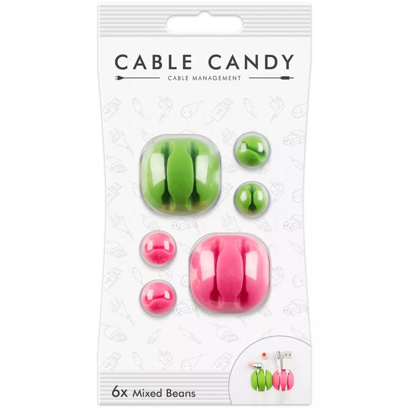 Cable Candy Green & Pink Mixed Beans (CC023)