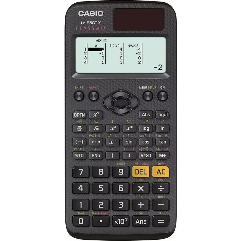 Casio GCSE Scientific Calculator with 276 Functions - Black
