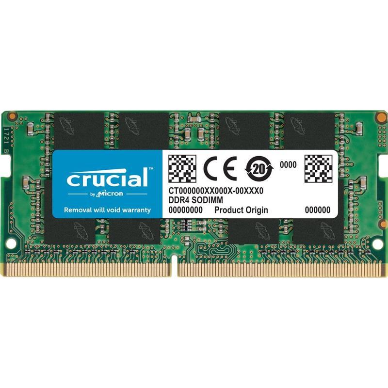 Crucial 16GB (1 x 16GB) 2400MHz DDR4 260-Pin Non-ECC CL17 SO-DIMM Laptop Memory Module