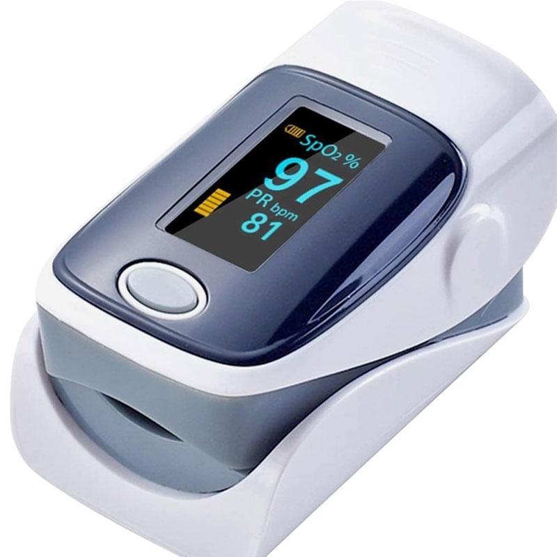 Fingertip Blood Oxygen Meter SPO2 OLED Pulse Heart Rate Monitor
