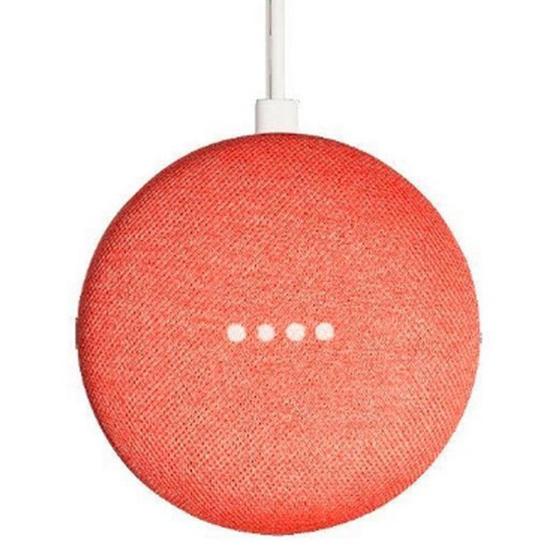 Google Home Mini Smart Speaker - Coral - Refurbished FFP
