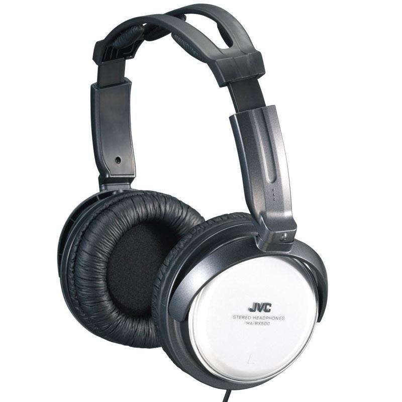 JVC Full Size Stereo Headphones - Silver