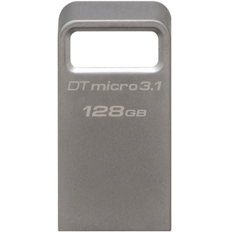 Kingston 128GB DataTraveler Micro 3.1 USB 3.0 Flash Drive - 100Mb/s