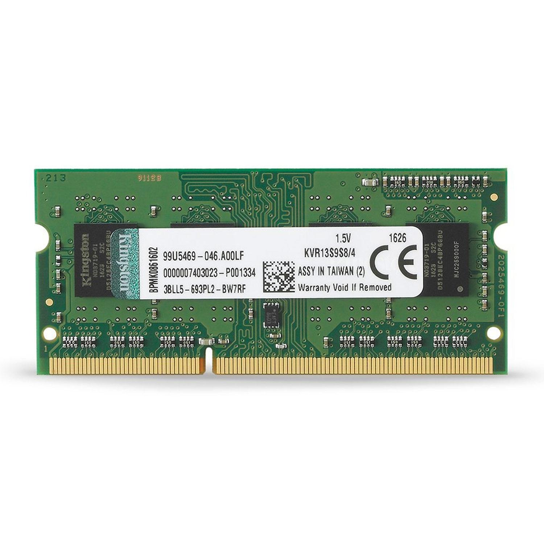 Kingston ValueRAM 4GB 1333MHz DDR3 Non-ECC CL9 204-Pin SO-DIMM PC Memory Module