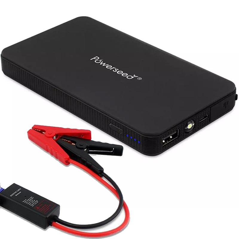 Powerseed Mini Boost 2A Jump Starter Portable Power Bank