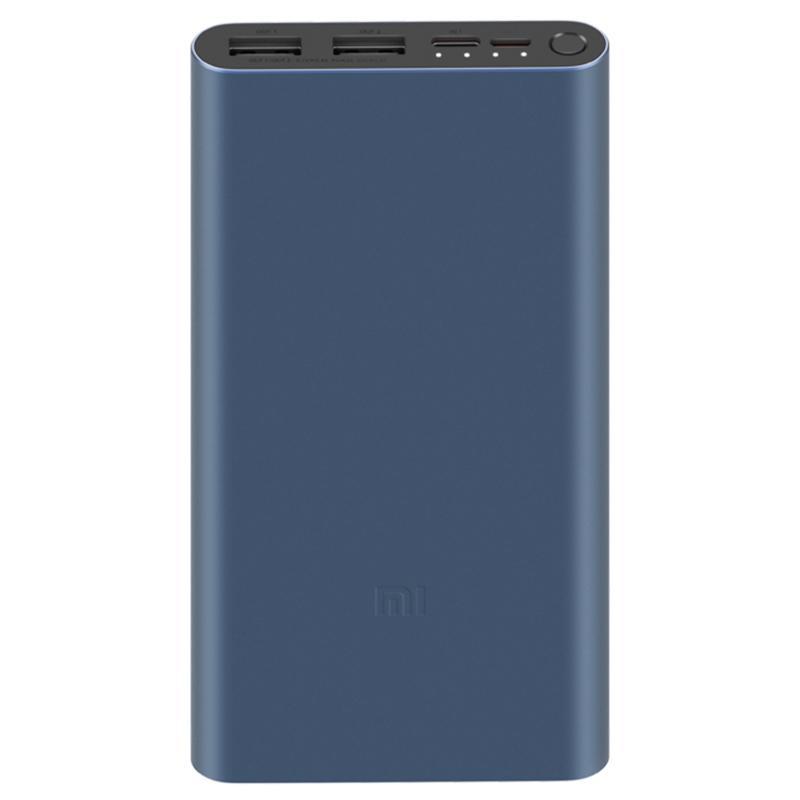 Xiaomi Mi 10000mAh 18W Power Bank 3 Fast Charge Input - Black