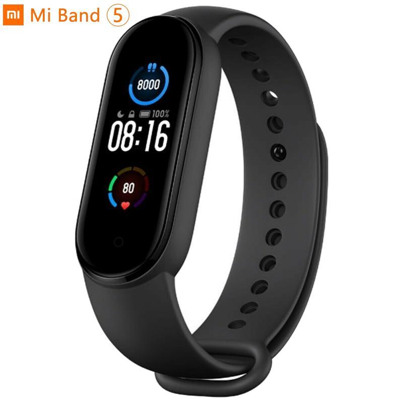 Xiaomi Mi Smart Band 5 Fitness Tracker AMOLED Screen - Black