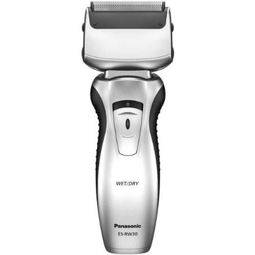 Panasonic Wet and Dry Twin-Blade Rechargeable Shaver with Pivoting Head (ES-RW30)