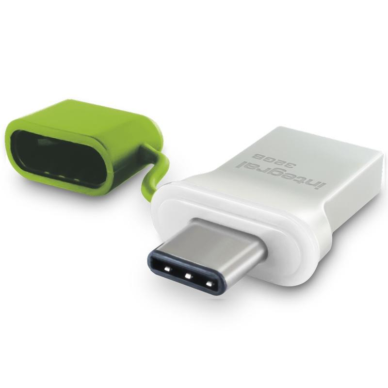 Integral 32GB Fusion USB-C 3.1 Flash Drive - 120MB/s