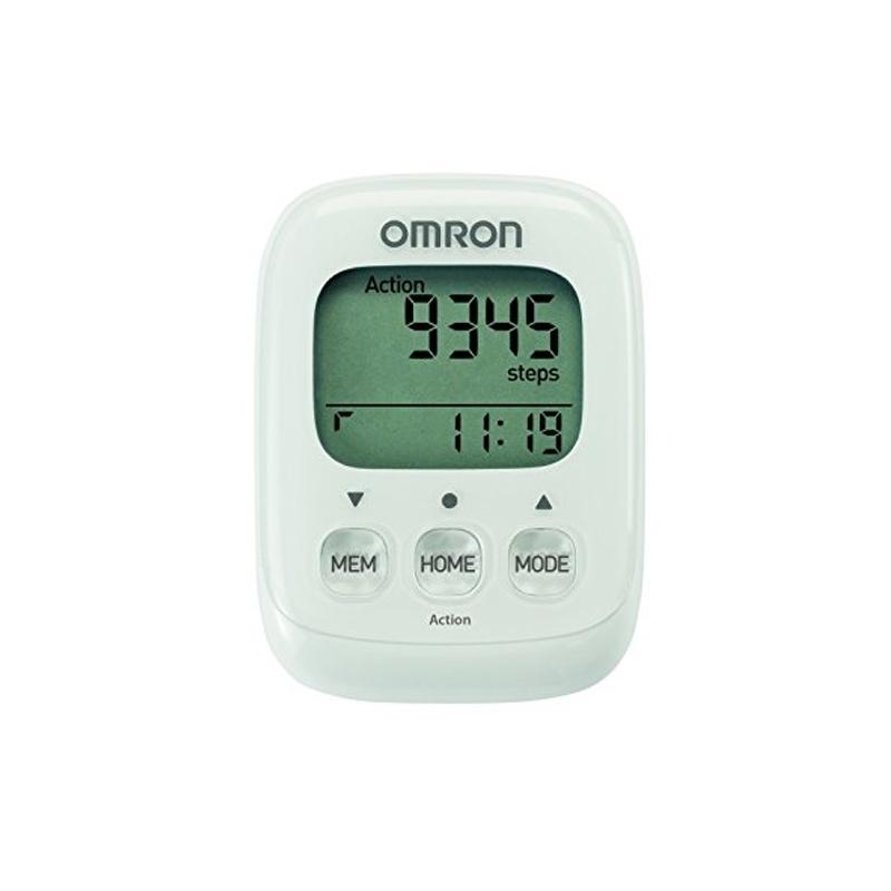 Omron Walking Style IV Step Counter Pedometer - White