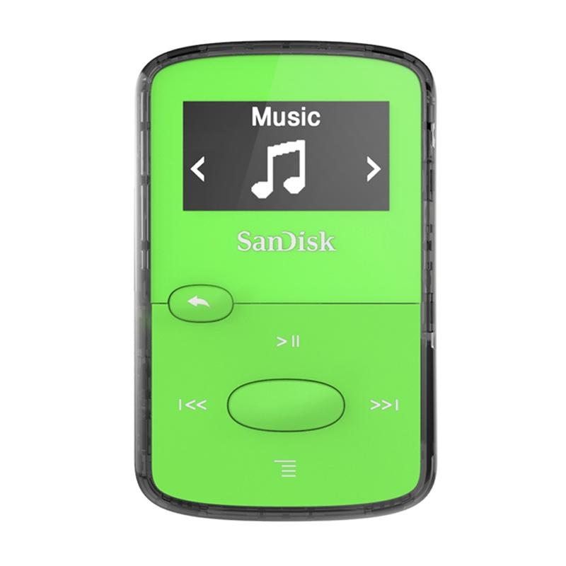 SanDisk Clip Jam 8GB MP3 Player - Green