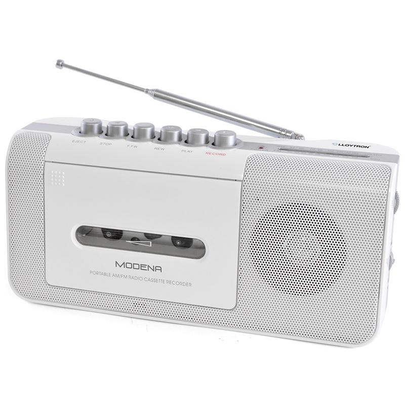 Lloytron Modena Portable 2 Band Radio Cassette Recorder