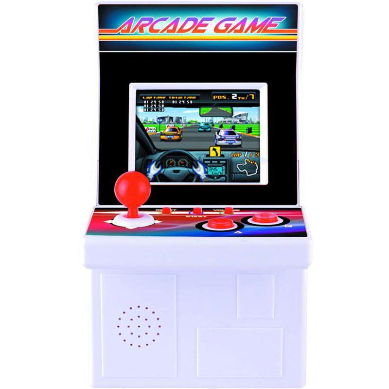 Taikee 220-in-1 16 Bit Portable Arcade-Spielekonsole - Weiß