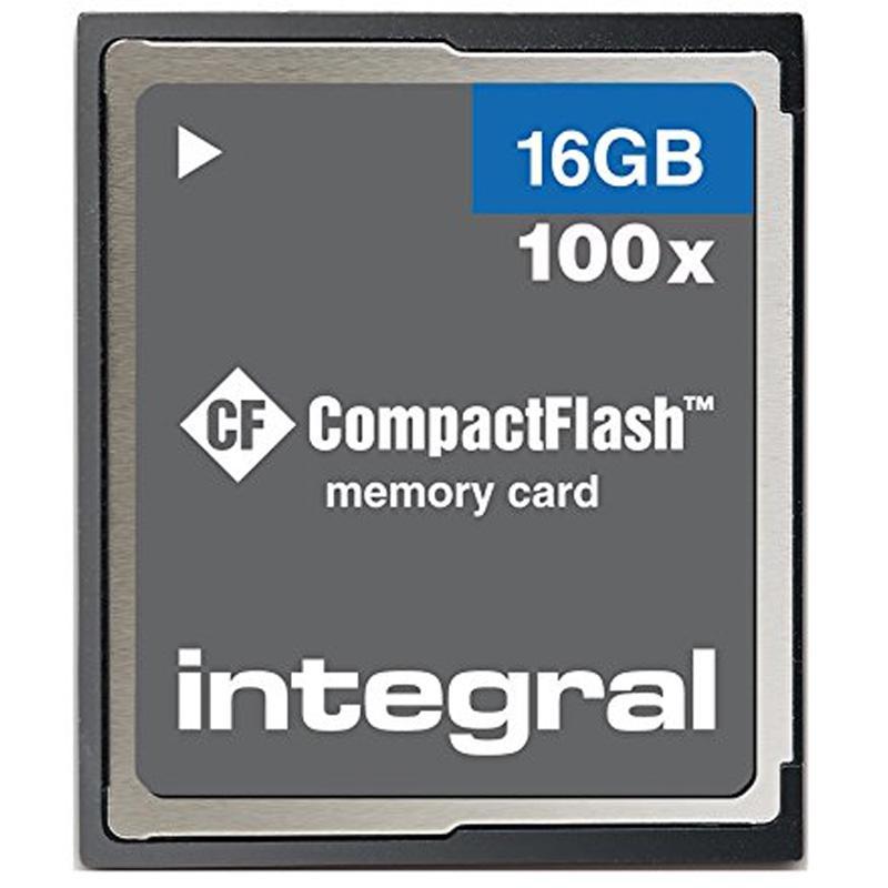 Integral 16GB Compact Flash Karte