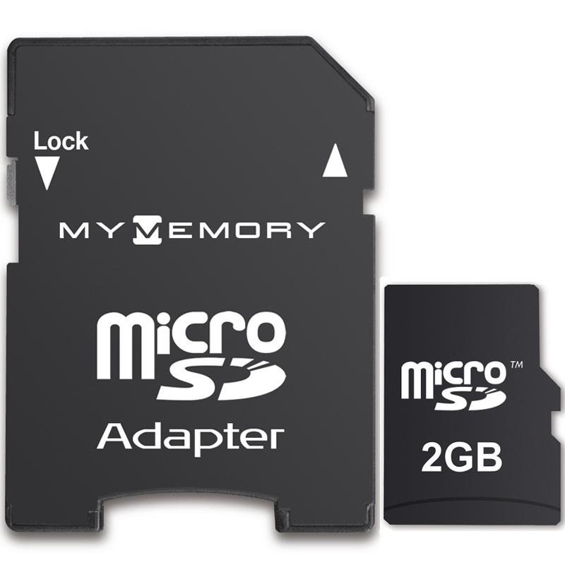 MyMemory 2GB Micro SD Karte + Adapter