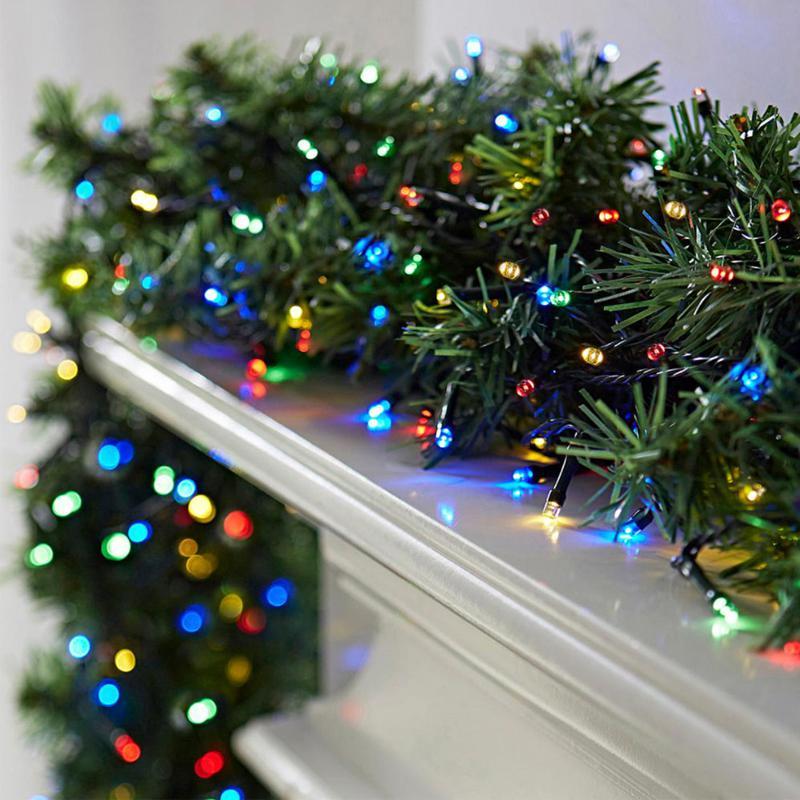 20 mehrfarbige Xmas LED-Lichterketten 2M - FFP