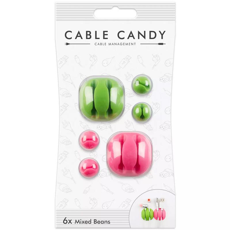 Cable Candy Grün & Rosa Mixed Beans (CC023)