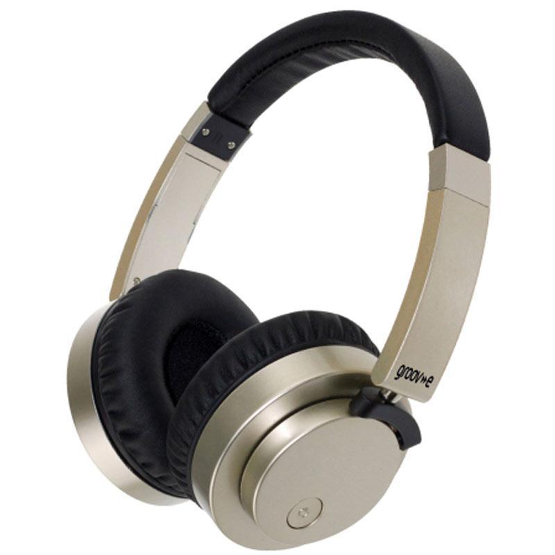 Groov-e Fusion Drahtloser oder drahtgebundener Stereo Kopfhörer - Gold