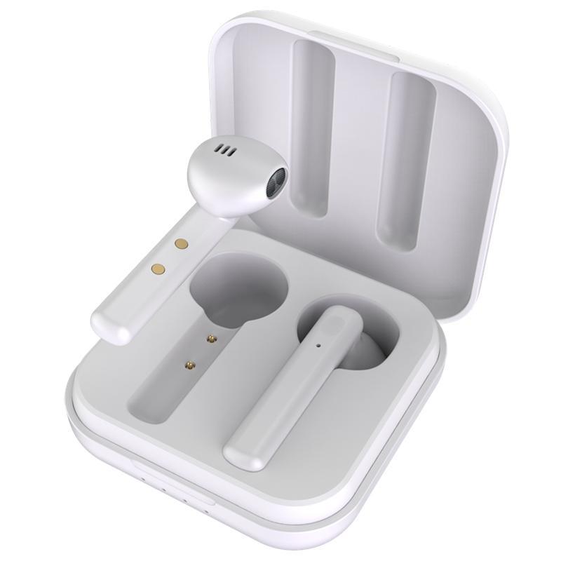 M1011 TWS Kabellose Ohrhörer Bluetooth 5.0 mit Ladeetui - Weiß