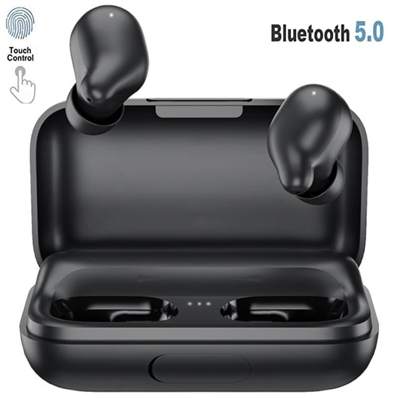 Xiaomi Haylou TWS Wireless Ohrhörer mit Ladecase - Schwarz