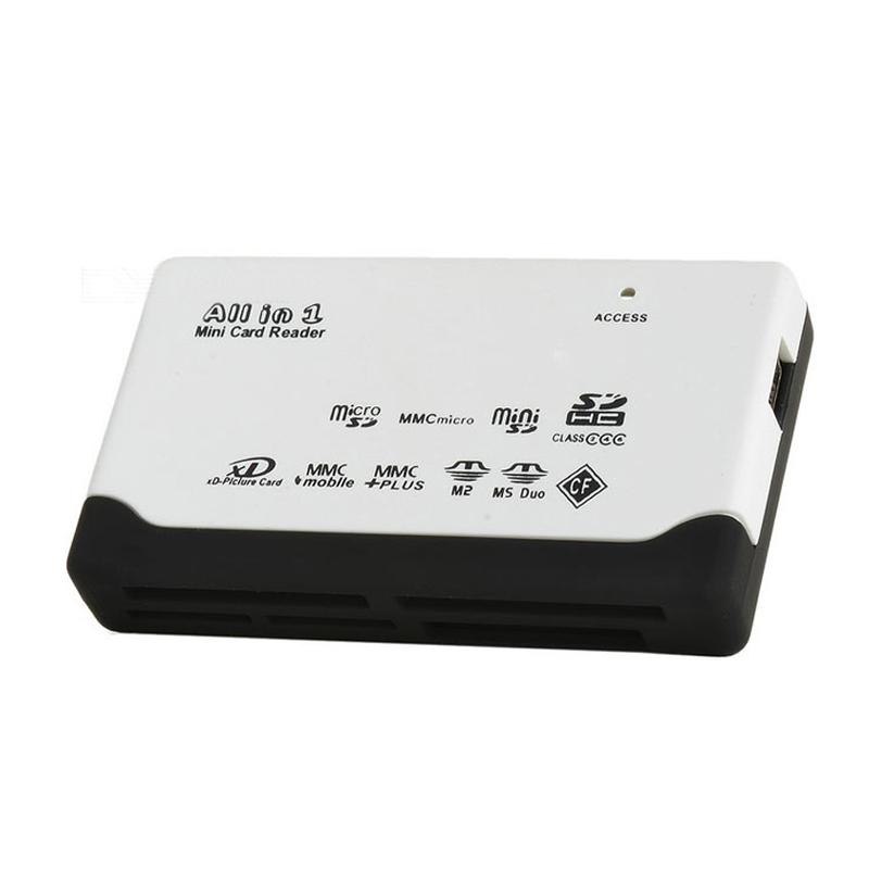 MyMemory All In One USB 2.0 Memory Kartenleser CF/MS/XD/SDHC/SDXC