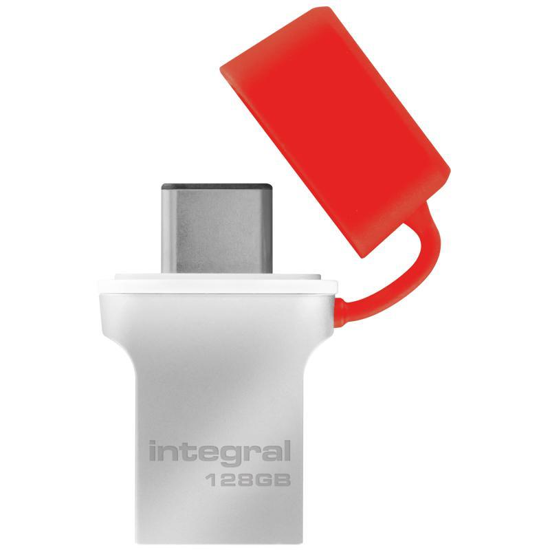 Integral 128GB Fusion USB-C 3.1 USB-Stick - 90MB/s