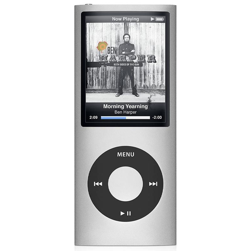 Tragbarer MP3-Player iPod Style LCD MP4 Media FM Radio 32GB - Silber