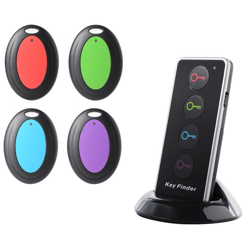 Kabelloser Bluetooth-Schlüsselsucher mit LED-Taschenlampe und 4 Empfängern