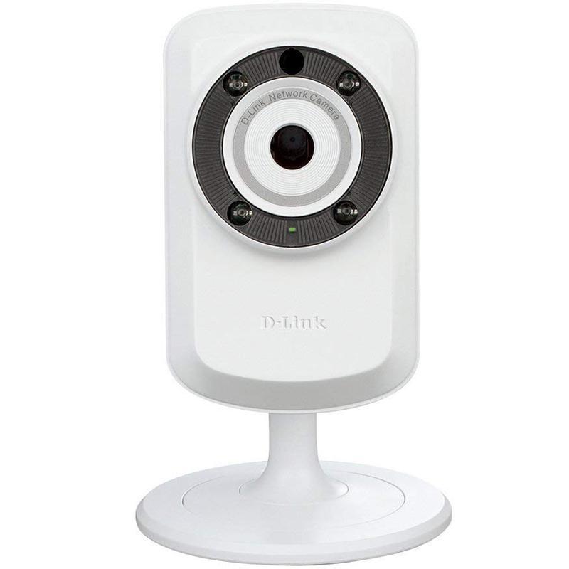 D-Link Wireless Day/Night Cloud IP Camera - White