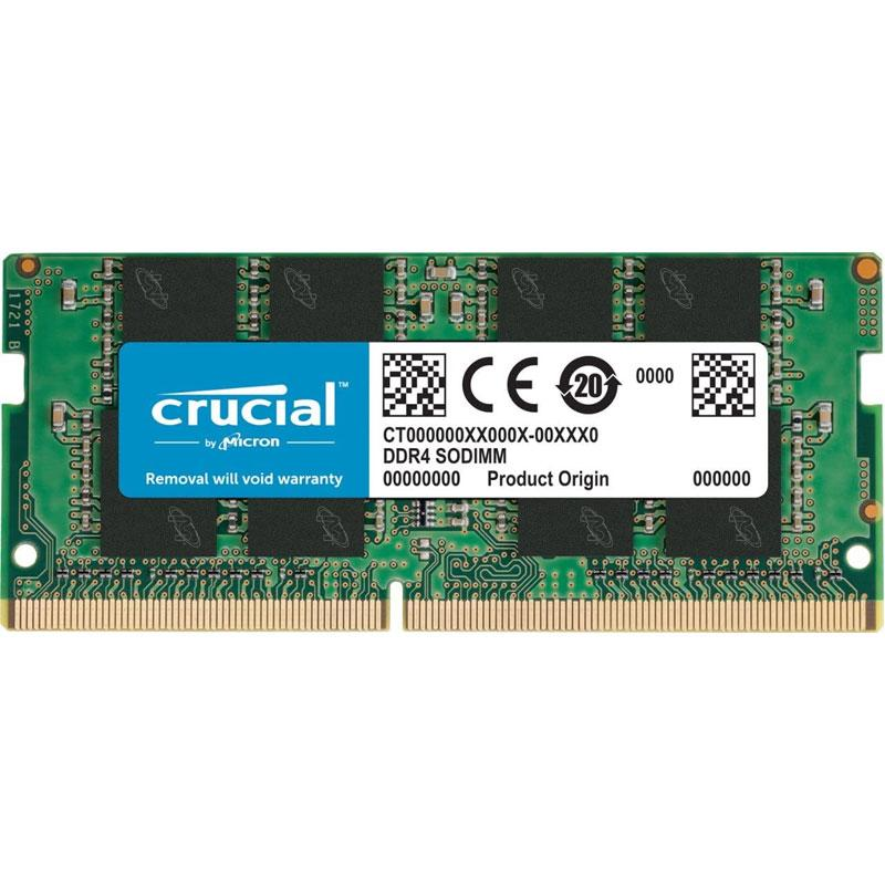 Crucial 4GB (1x4GB) 2400MHz DDR4 260-Pin Non-ECC CL17 SO-DIMM Laptop Memory Module