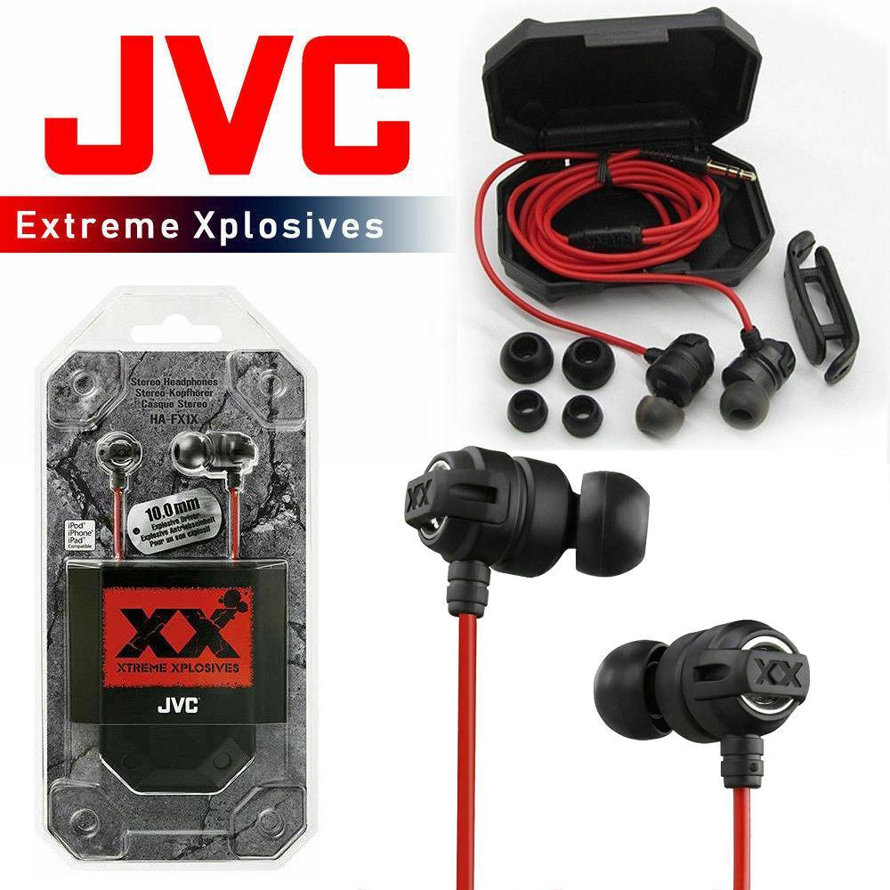 JVC Xtreme Xplosives In-Ear Canal Headphones (HA-FX1X)