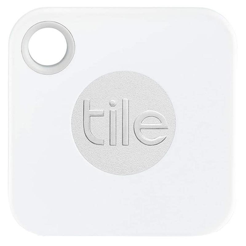 Tile Mate Bluetooth Tracker with Replaceable Battery - White