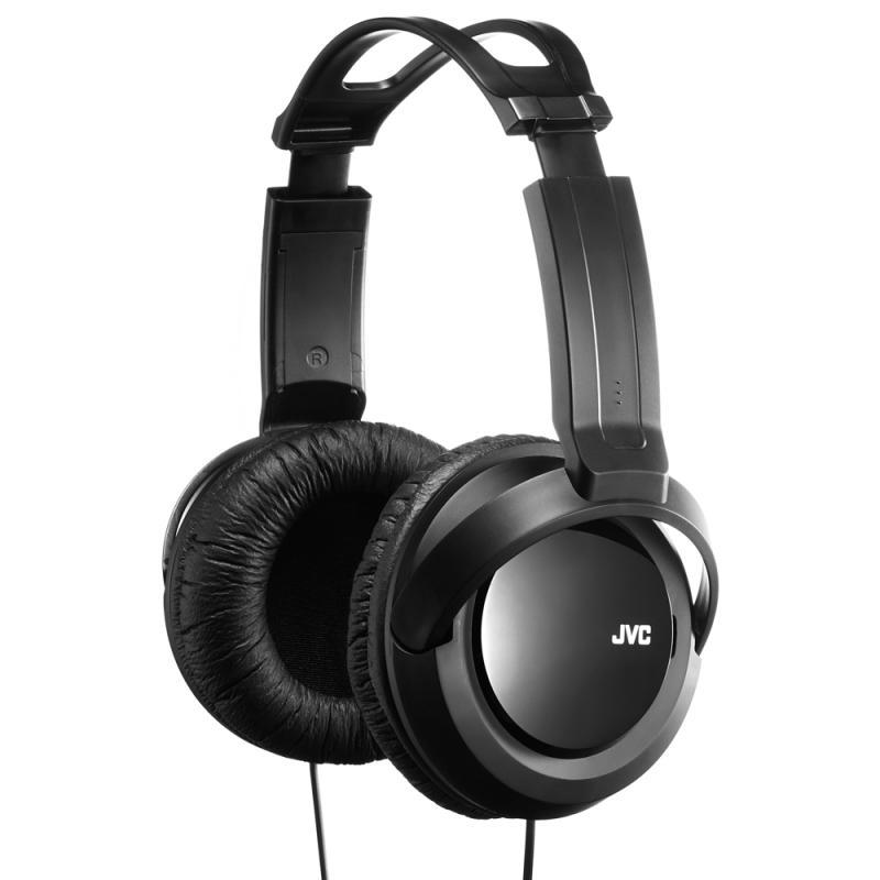 JVC Full-Size Over-Ear Stereo Headphones - Black