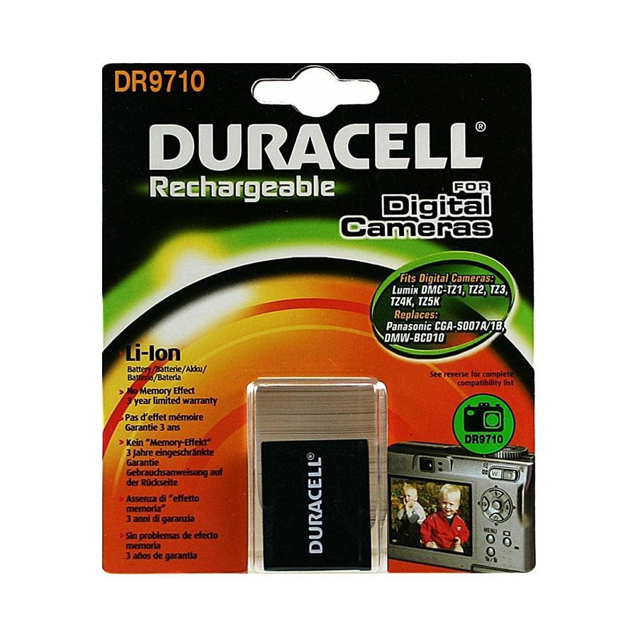 Duracell Panasonic CGA-S007 Camera Battery