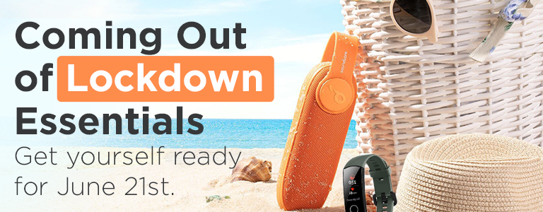 Shop Our Range of Coming out of Lockdown Essentials