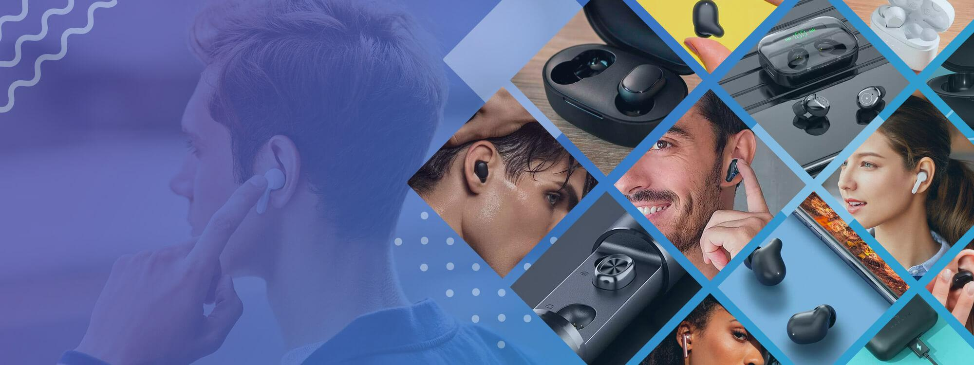 Wireless earbuds/headphones + Free UK Delivery