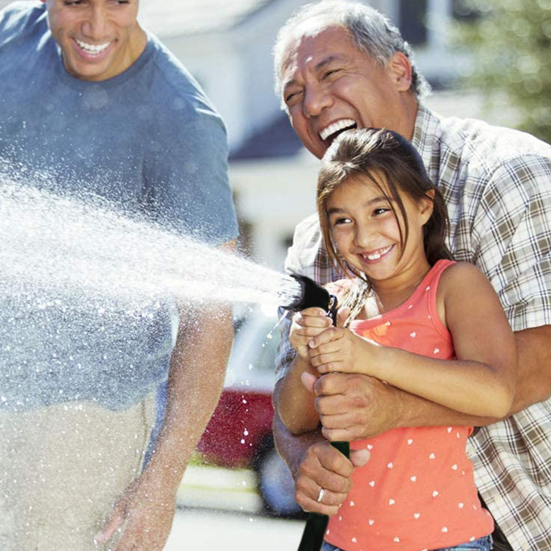 Buy a Expandable Garden Hose Get a Free Sprinkler