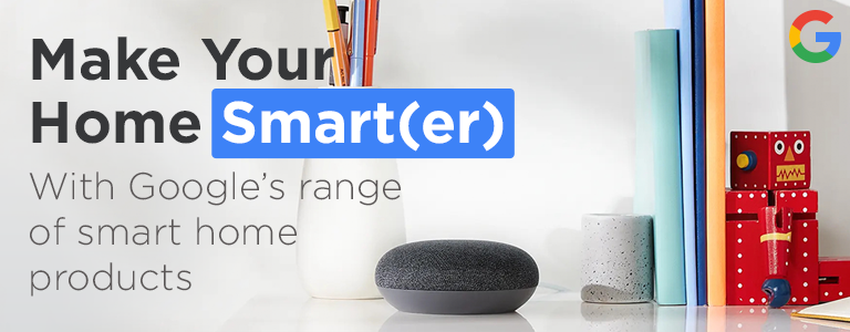 Shop Google's range of smart home products