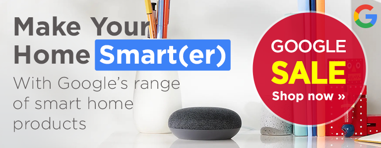 Shop Google's range of smart home products in our Google Sale
