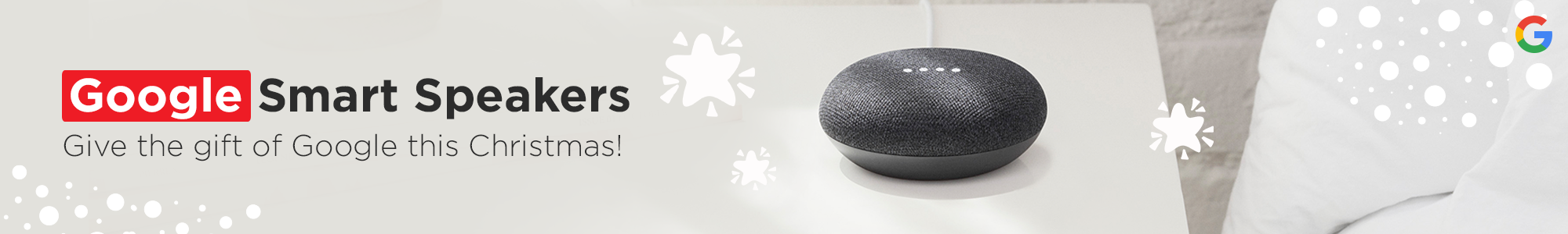 Shop Our Range of Smart Speakers from Google