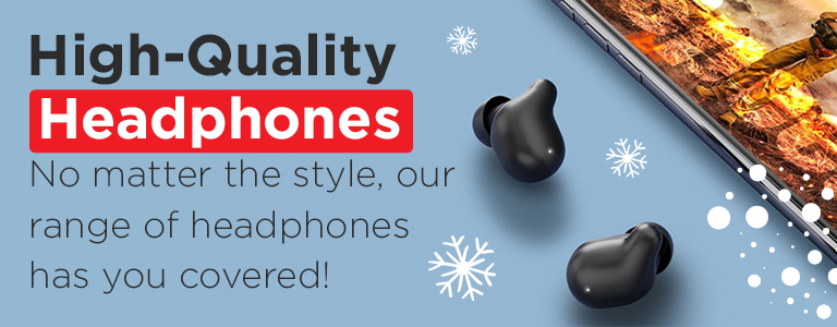 Shop Our Range of High-Quality Headphones This Christmas