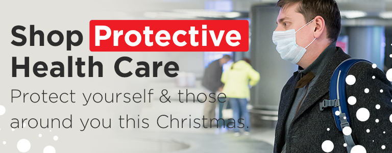 Protect yourself and those around you with our range of Protective Health Care