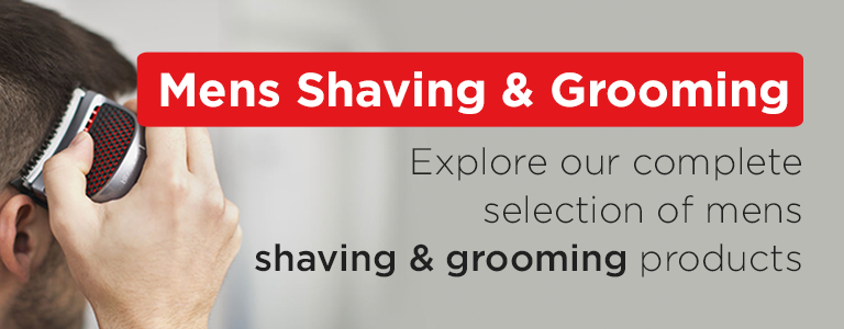 Explore our complete selection of Mens Shaving and Grooming products