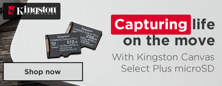 Capturing life on the move with Kingston Canvas Select microSD Cards