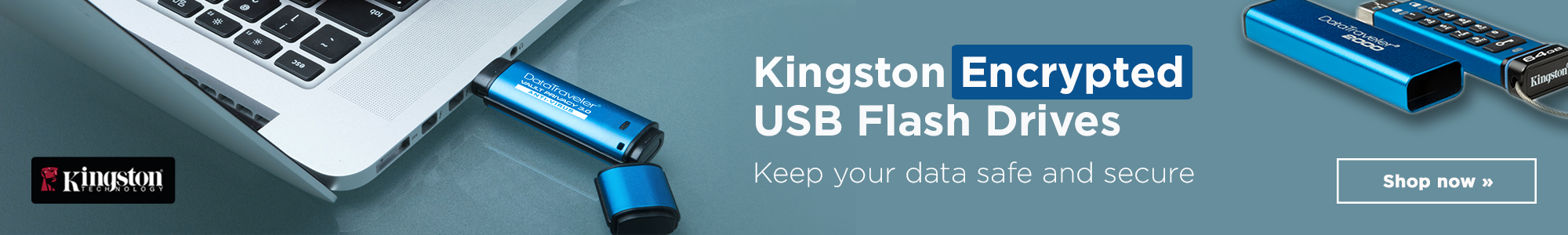 Shop Kingston Encrypted USB Flash Drives