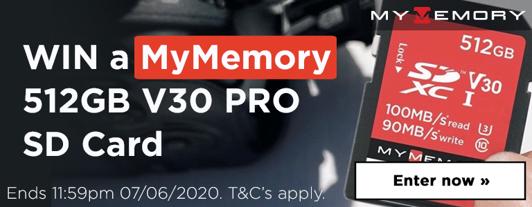 Win a MyMemory 512GB V30 PRO SD Card