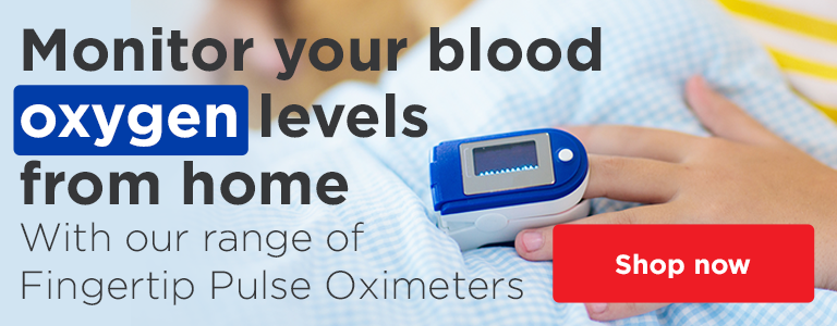 Discover our range of Fingertip Pulse Oximeters to monitor you blood oxygen levels at home