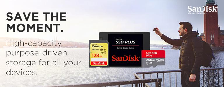SanDisk Memory solutions for your device + Free UK Delivery
