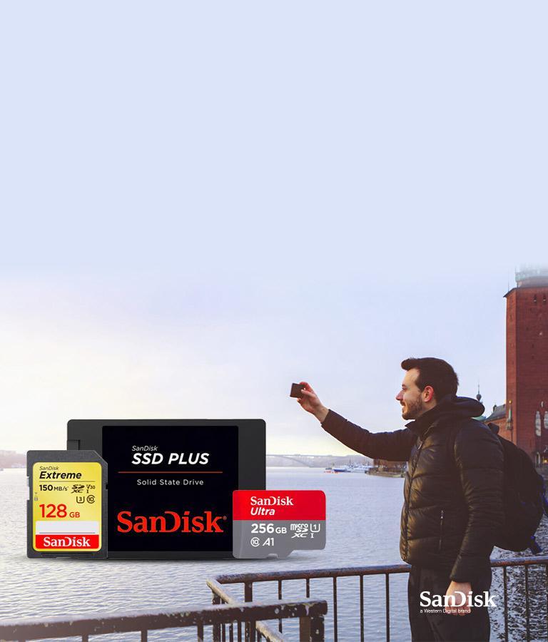 SanDisk Speicherlösungen für Ihr Gerät